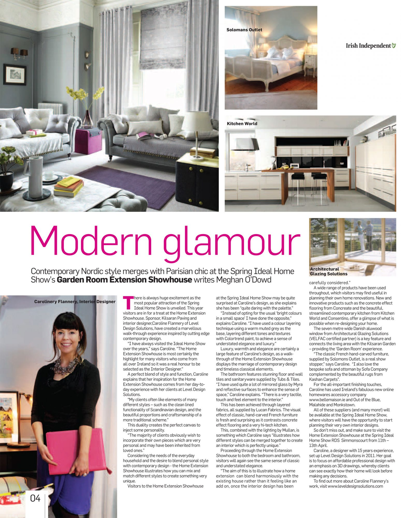 Irish Independent: Garden Room Home Extension Showhouse designed by ...