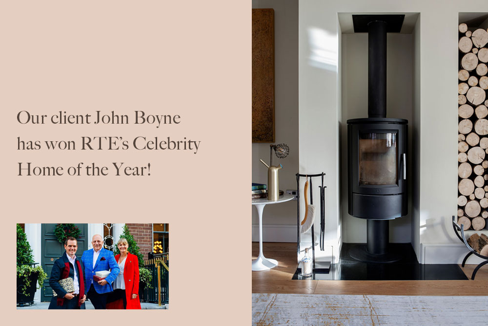 RTE Celebrity Home of the Year winner author John Boynes' Home